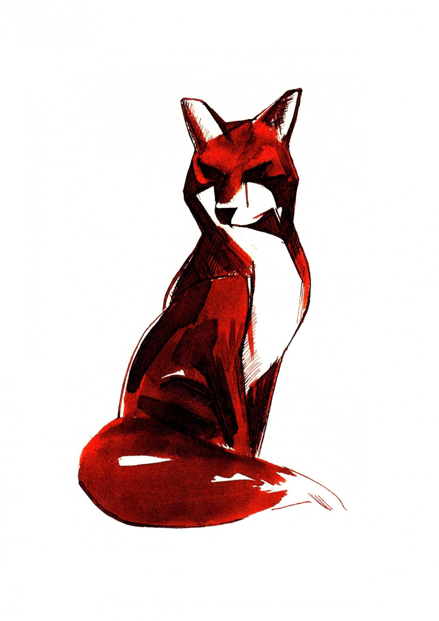 1449x2050 Sepia Fox