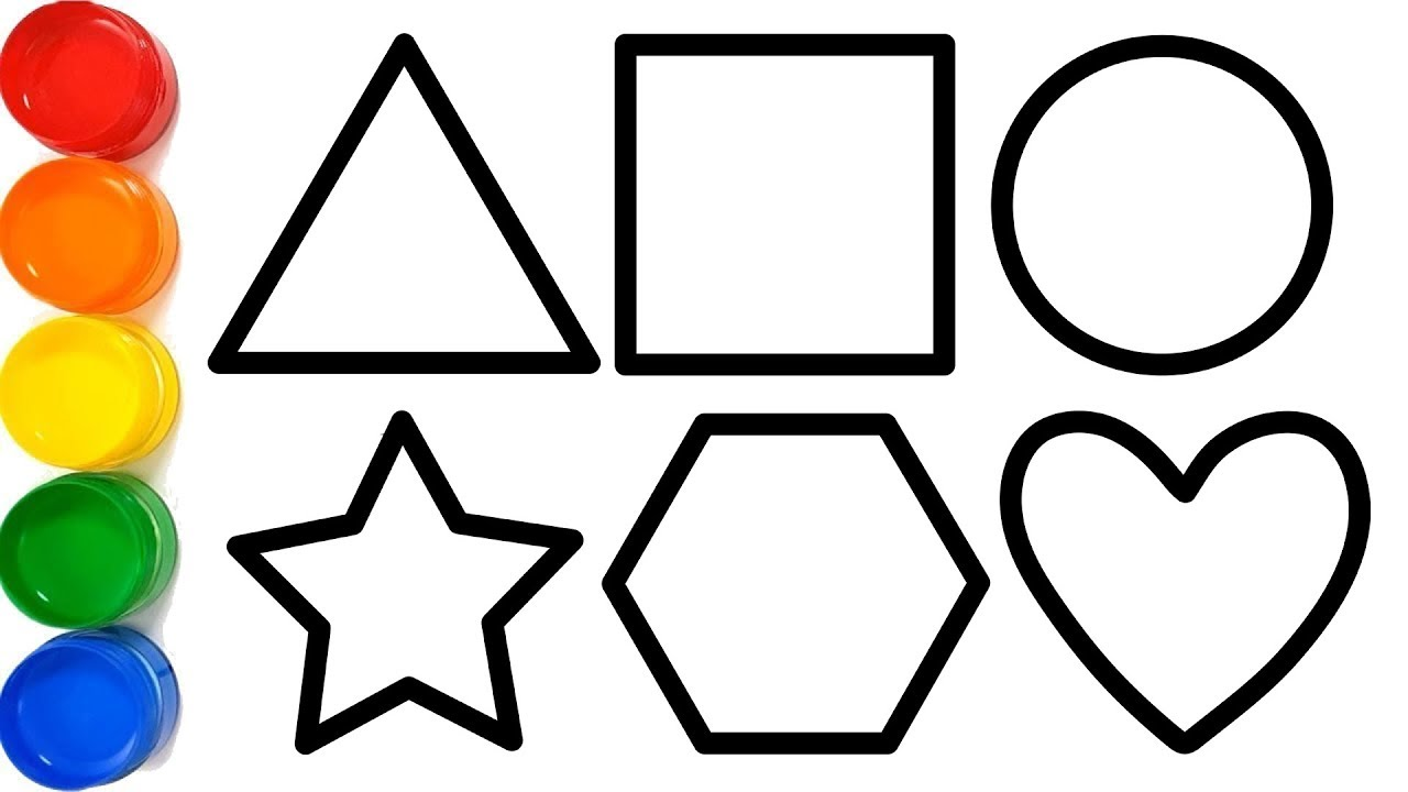 Shapes Drawing | Free download best Shapes Drawing on
