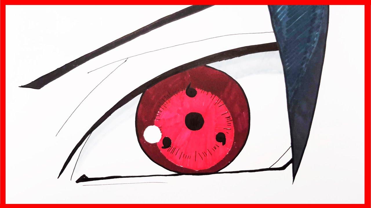 Sharingan Eye Drawing Free Download Best Sharingan Eye