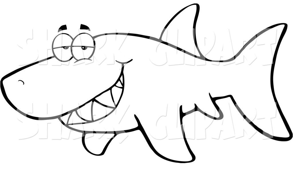 photo about Printable Shark Template called Shark Drawing Template Absolutely free obtain ideal Shark Drawing