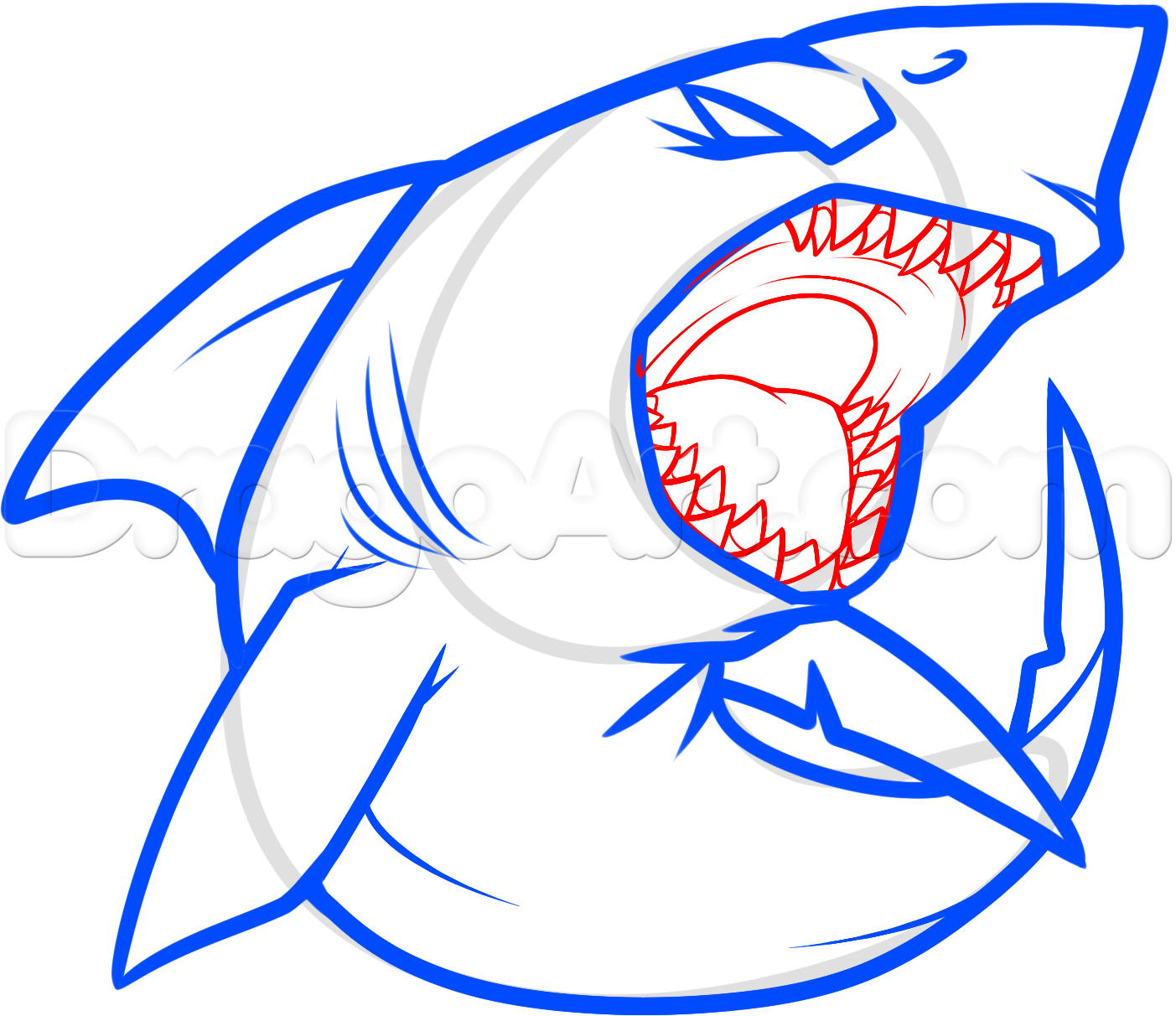 Shark Pictures Drawing | Free download best Shark Pictures Drawing