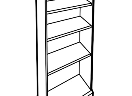 440x320 Drawing Shelves Book, Books Clipart Etc