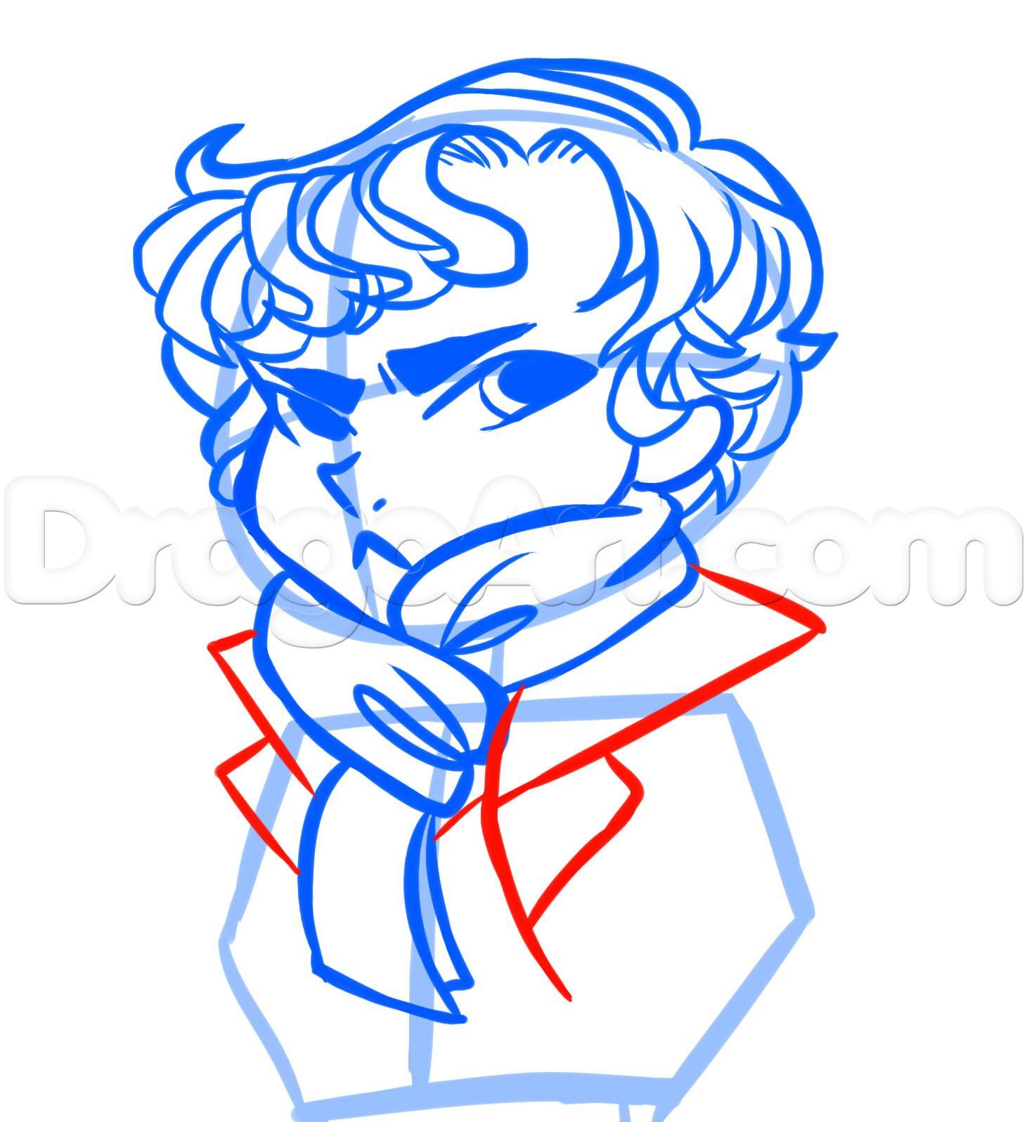 1461x1596 How To Draw Sherlock Holmes, Sherlock, Step