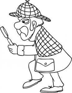 232x302 How To Draw Sherlock Holmes