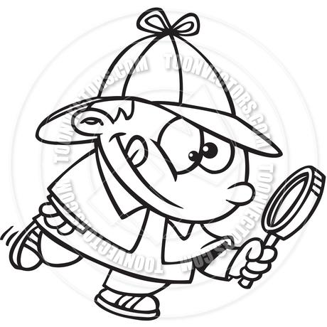 460x460 Cartoon Young Sherlock Holmes