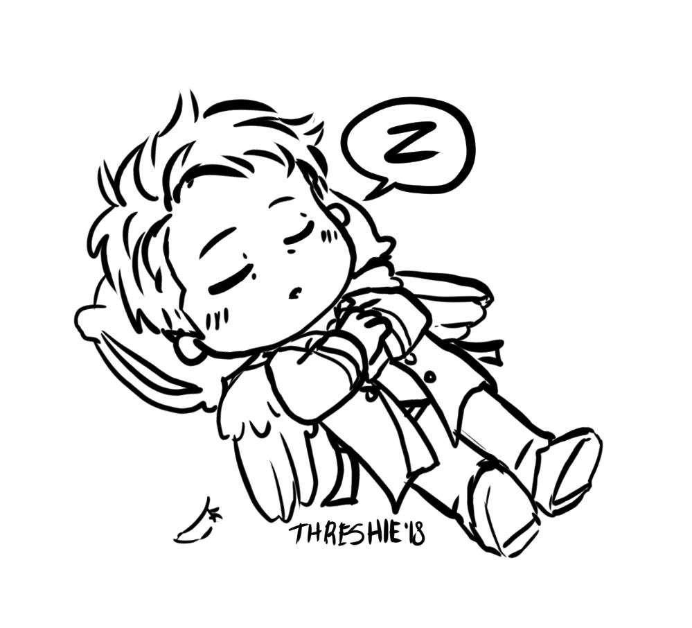 999x906 Threshie Threshasketch Shh He's Taking A Nap