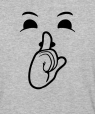 190x228 Halloween Emojis Costume Shirt Shushing Face Shh Q Unisex Baseball