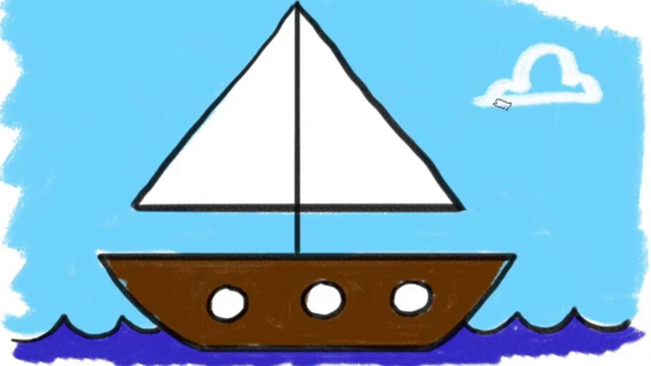 Ship Drawing Simple