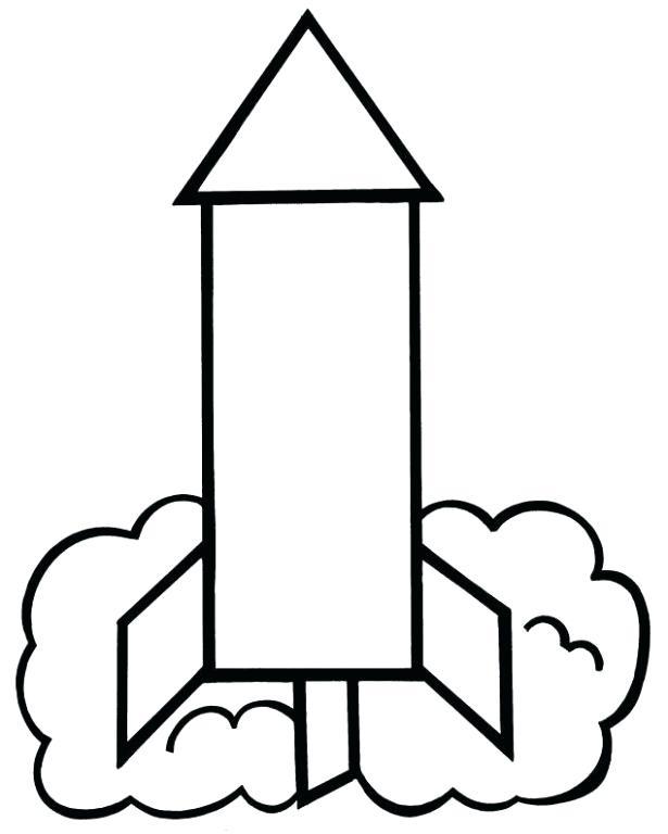 615x768 rocket ship outline rocket coloring pages and book rocket outline