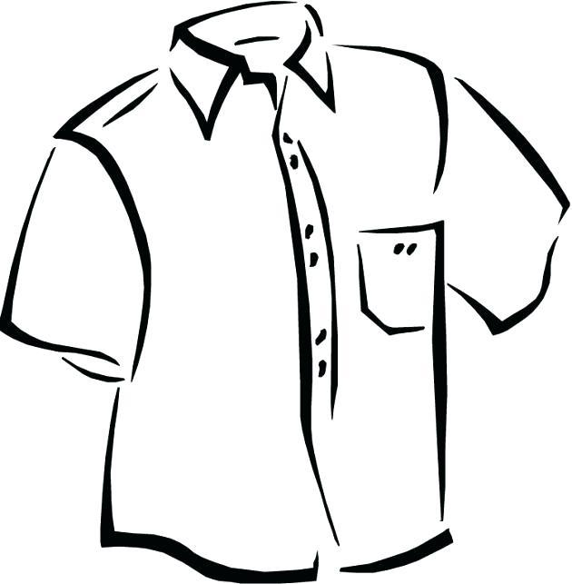 Shirt Collar Drawing