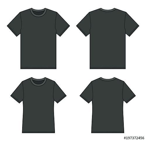 500x484 best t shirt template t shirt drawing template shirt drawing template