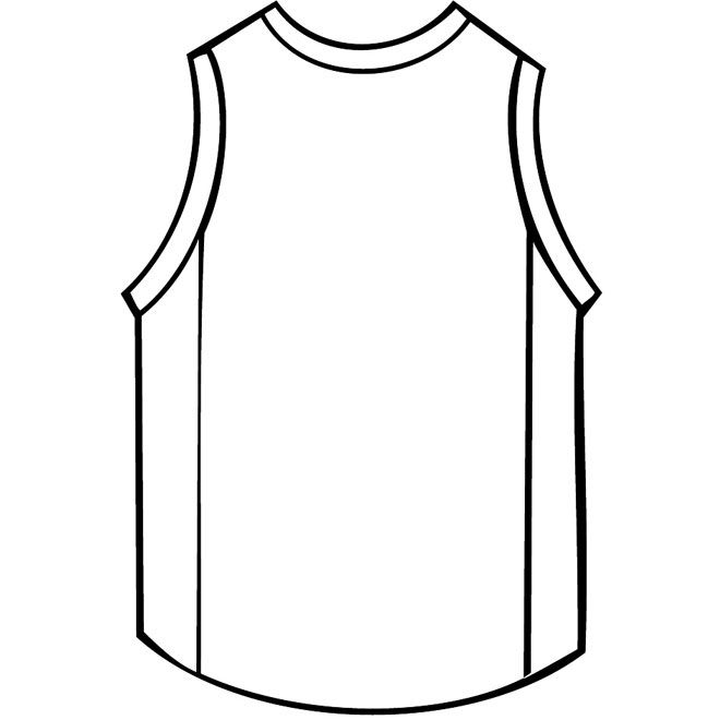 Shirt Outline Drawing