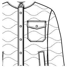 Shirt Pocket Drawing