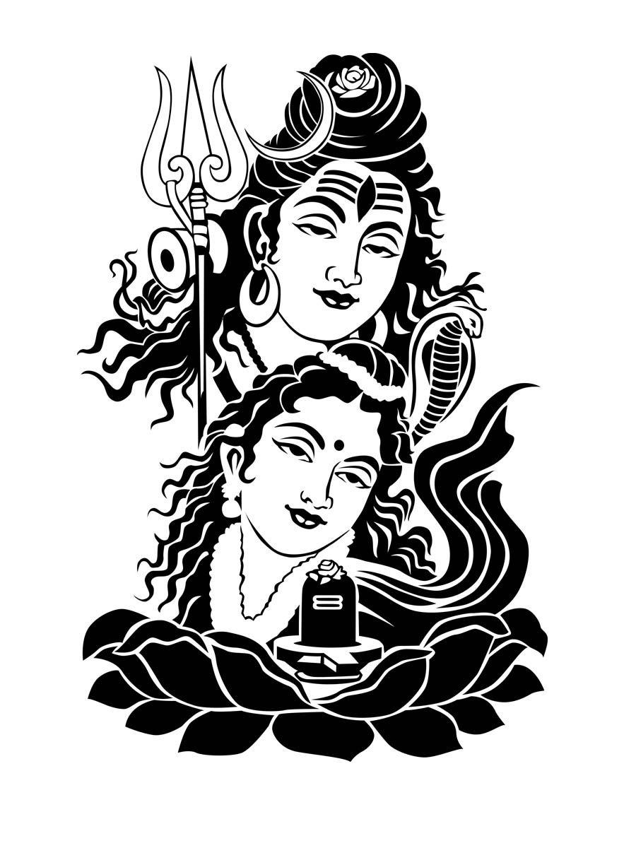 Shiva drawing free download best shiva drawing on