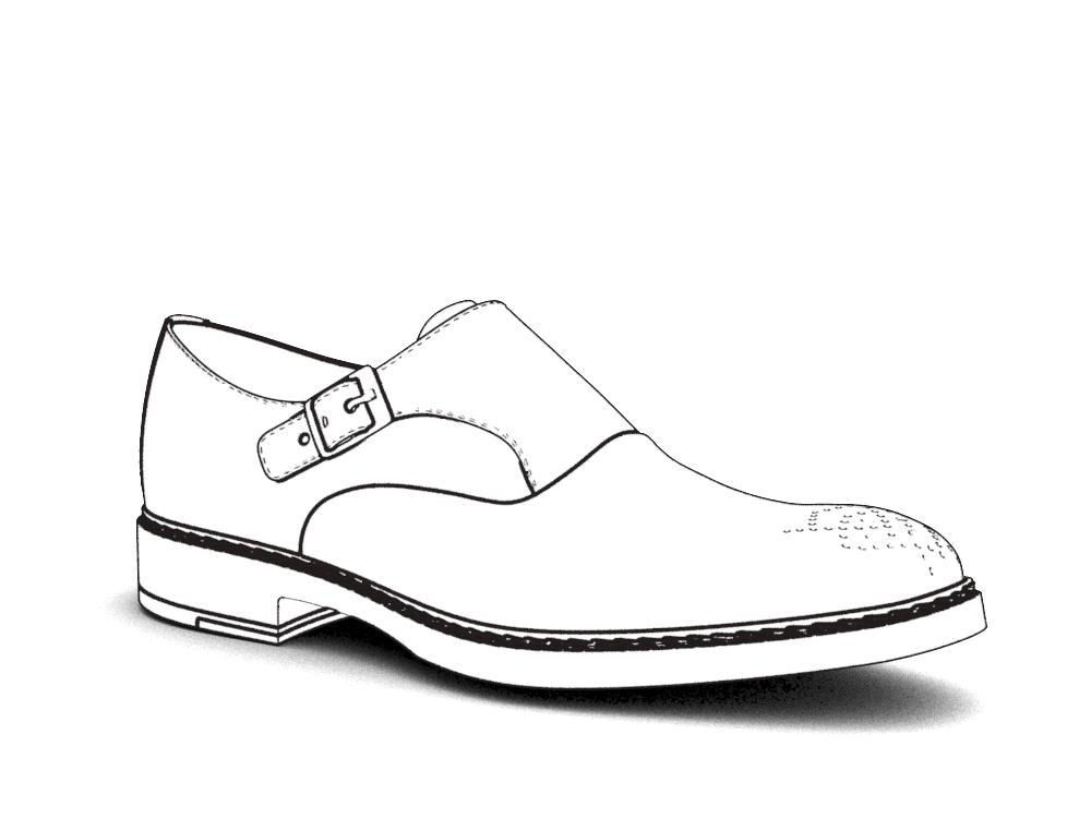 1000x750 Sneakers Drawing Formal Shoe For Free Download