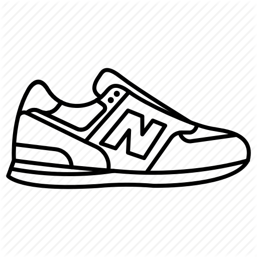 512x512 Collection Of Free Sneaker Drawing Shoe New Balance Download On Ui Ex