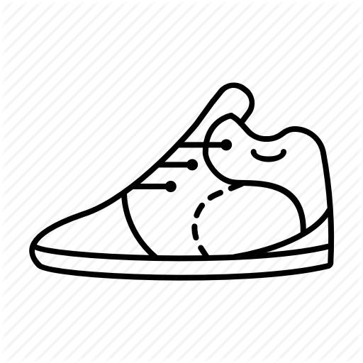 512x512 Drawing Illustrations Sport Shoe Transparent Png Clipart Free