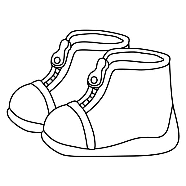 600x600 Huge Collection Of 'shoe Drawing For Kids' Download More Than