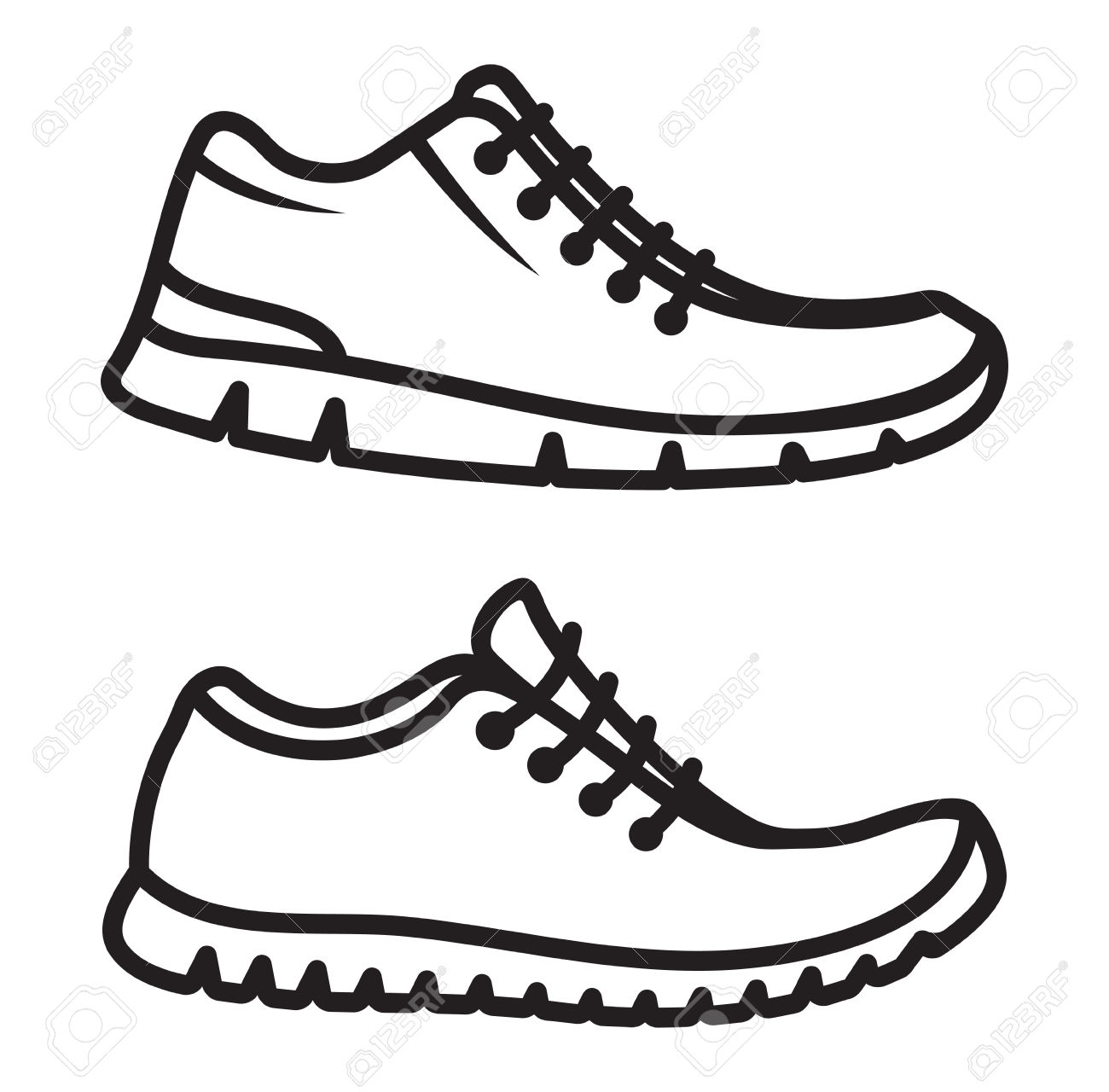 1300x1280 Drawing Shoes Rubber Shoe For Free Download