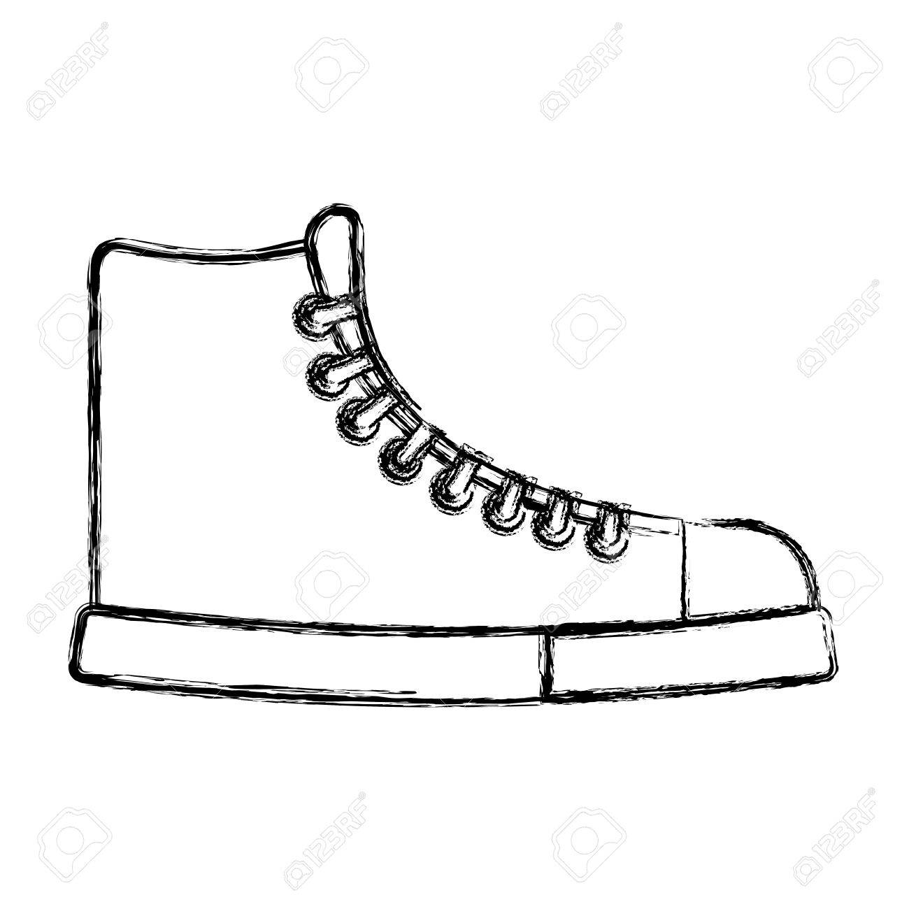 1300x1300 Boots Drawing Template The Monkey Football Baby Front View