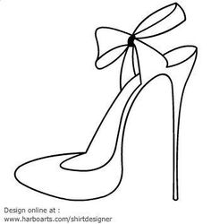 236x250 Collection Of High Heel Shoe Template Printable Images