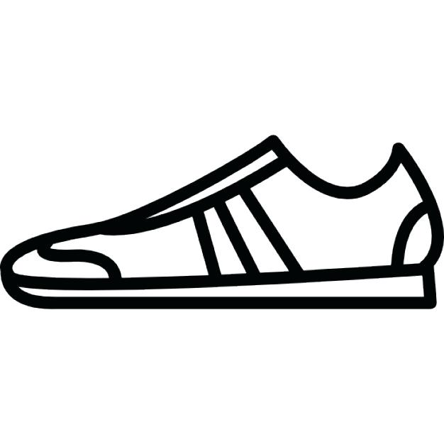 626x626 tennis shoe outline tennis draw template shoe print template