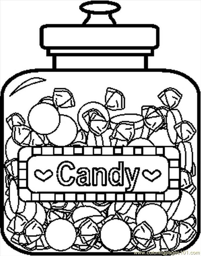 650x828 Candy Drawing Candy Shop For Free Download