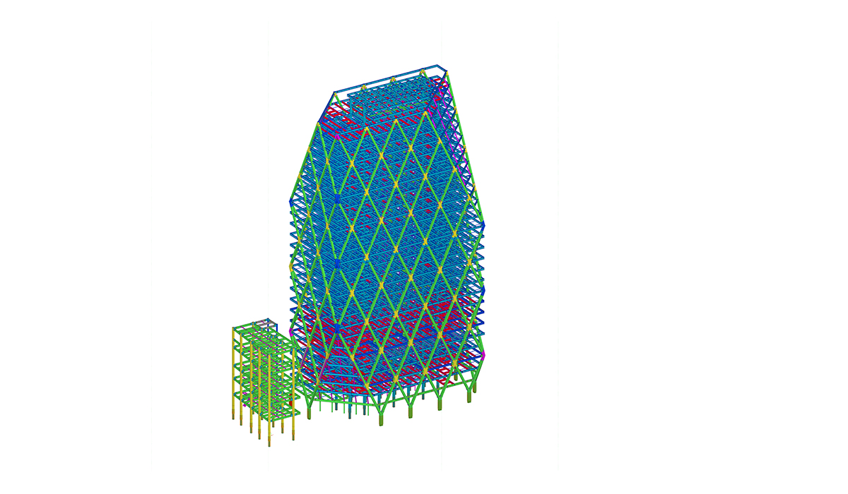 1200x700 Design And Shop Drawing Min Dhama Steel Structures Coltd