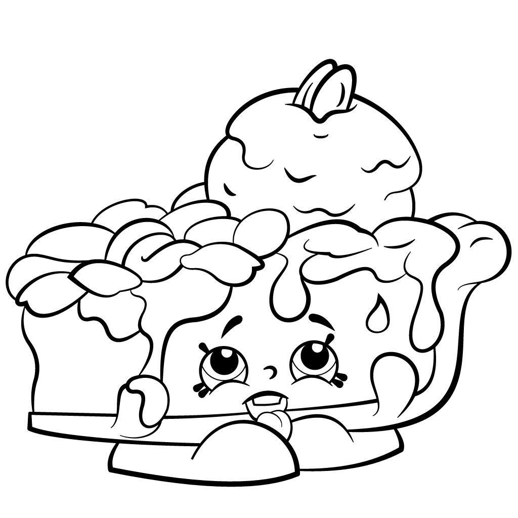 1024x1024 Shopkins Coloring Pages Best Hand Drawing Pecanna Pie Season