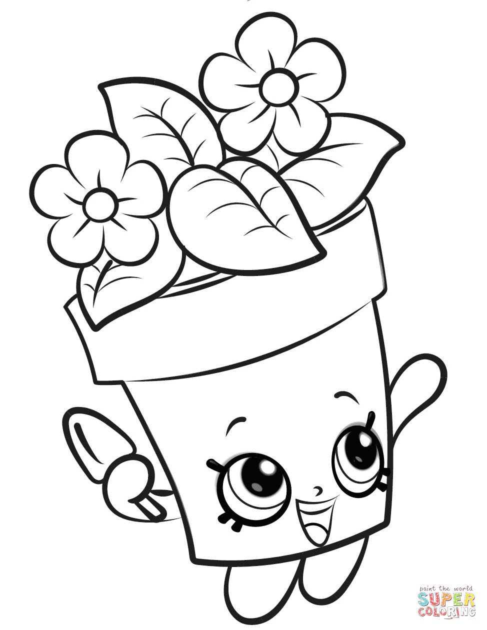 Shopkins Drawing Pages | Free download on ClipArtMag