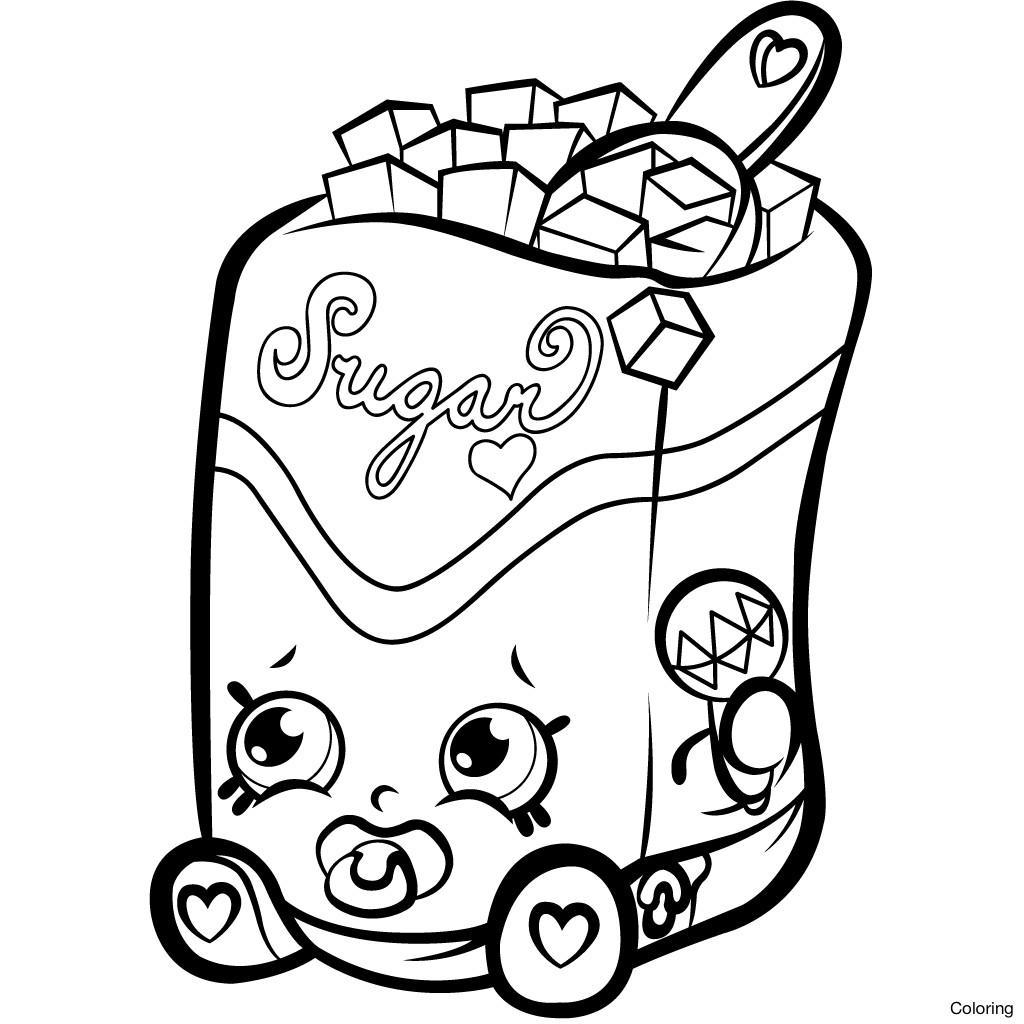 Shopkins Drawing Pages   Free download on ClipArtMag