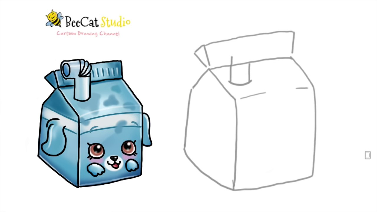 1280x720 How To Draw Shopkins Season Milk Bud Petkins