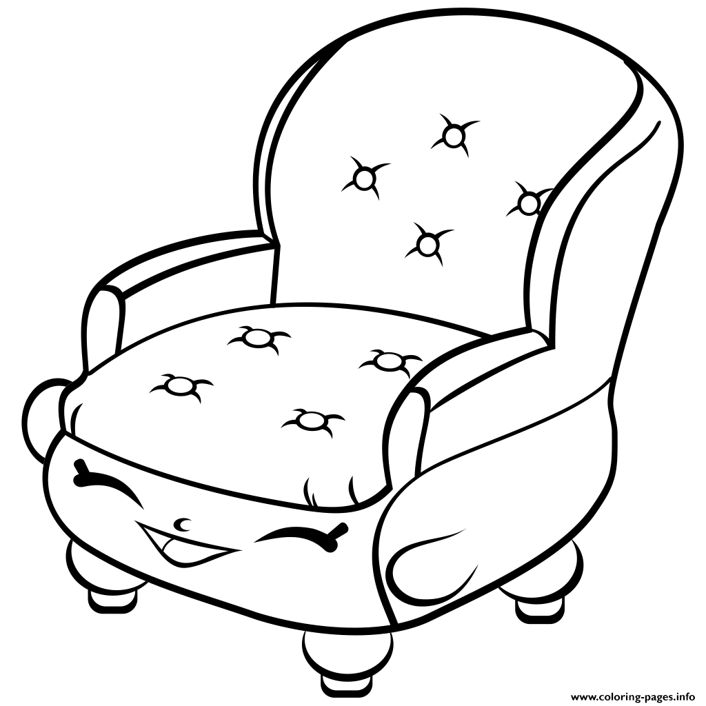 1024x1024 Print Chair Shopkins Season Coloring Pages Shopkins Coloring