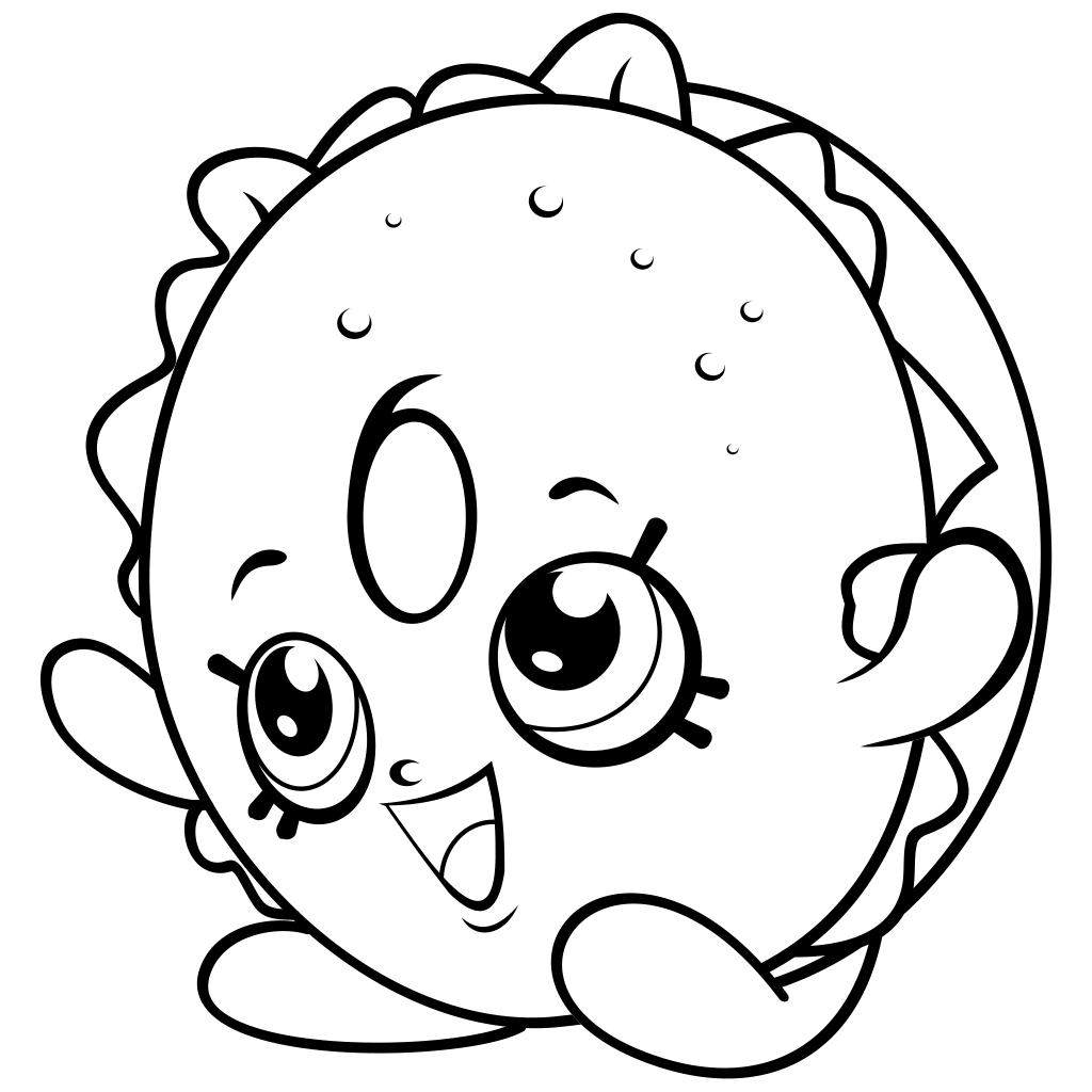 1024x1024 Shopkins Coloring Pages Easy Coloring Book Season
