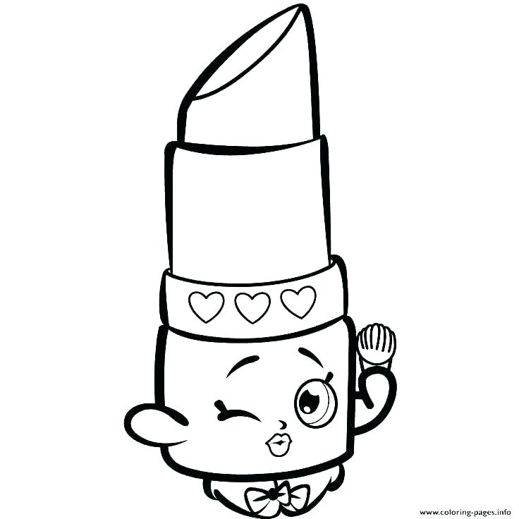 736x736 Shopkins Printable Coloring Pages For Girls Drawings Fresh Free
