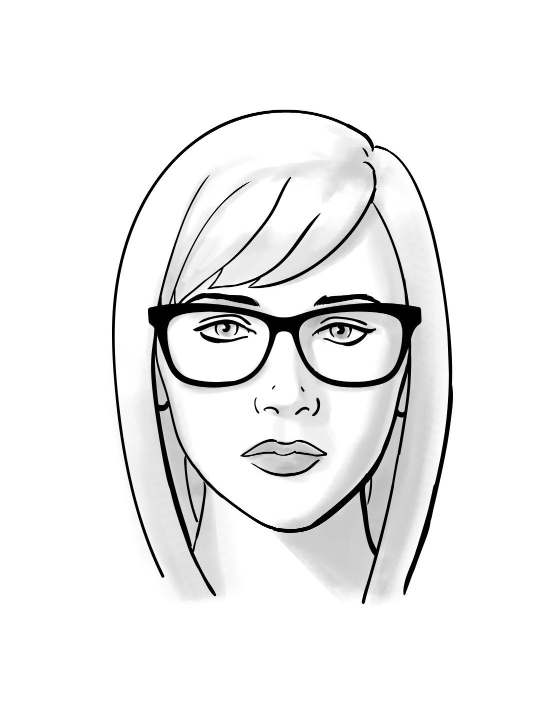Short Girl Drawing