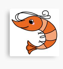210x230 Funny Shrimp Drawing Canvas Prints Redbubble