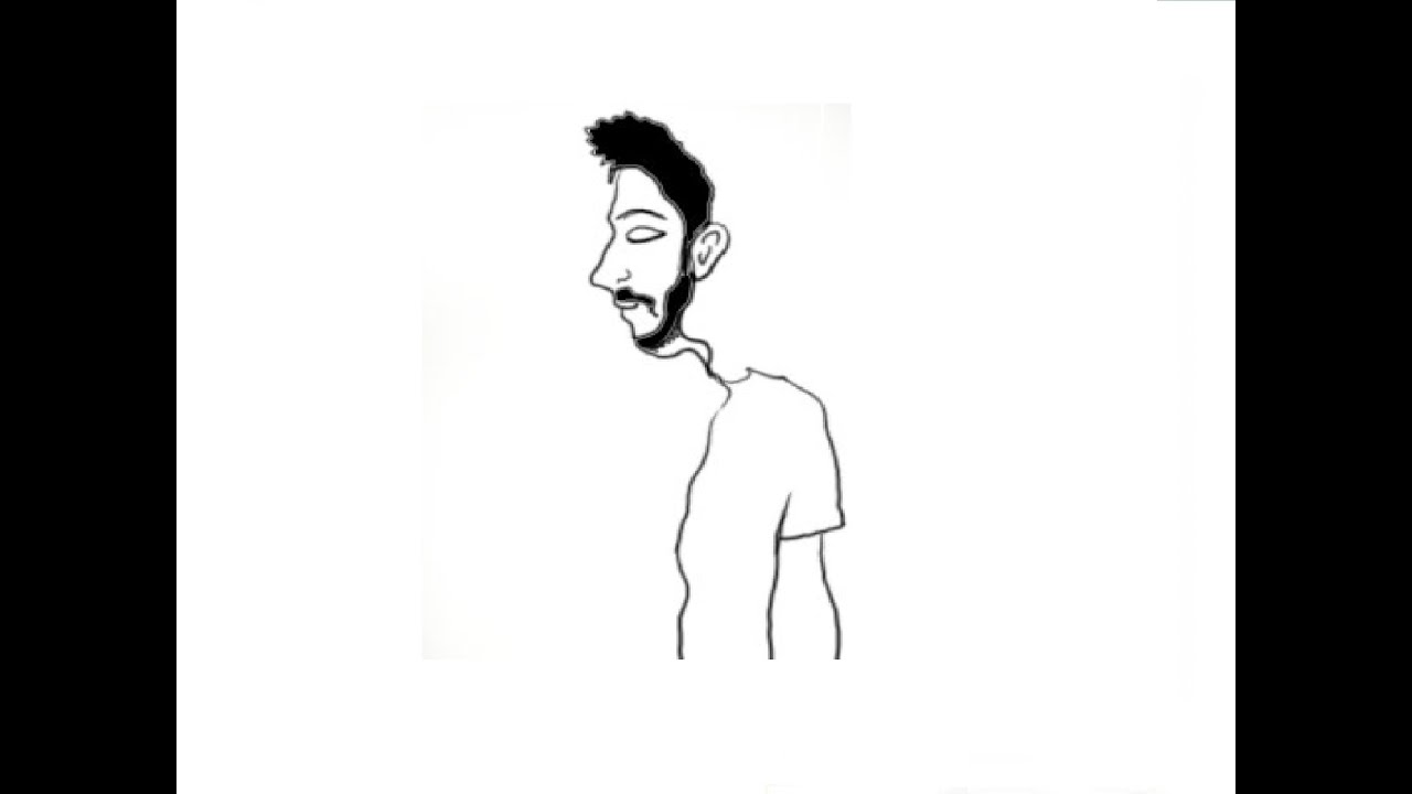 1280x720 How To Draw Do You See This Man From Profile Or Front Side