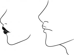 302x226 How To Draw Profile Faces And Mouths Side View
