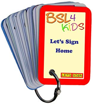 314x355 bsl let's sign home signs card keyring, line drawings