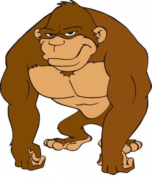 511x600 gorilla gorilla drawings