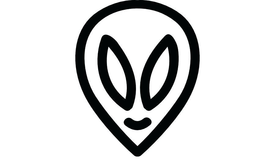 900x520 alien head drawing imaginative alien head alien head drawing easy