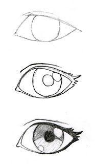 Simple Anime Drawings