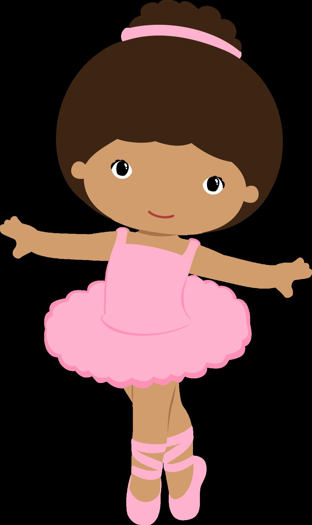 Simple Ballerina Drawing