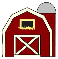 Simple Barn Drawing