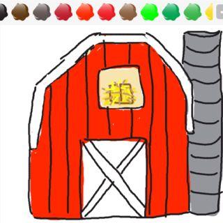 320x320 barn drawing draw something! barn drawing, easy