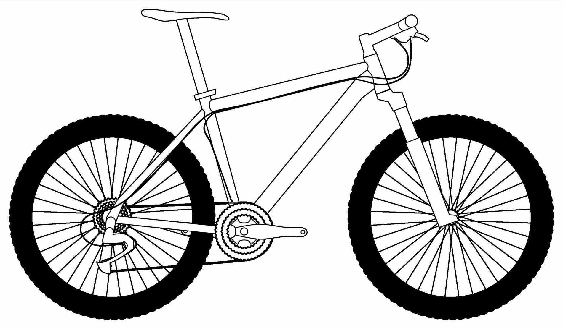 Simple Bicycle Drawing