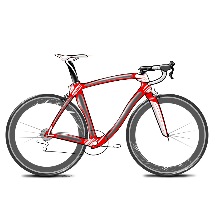 900x900 Bike Drawing Simple Bike Drawing Art Drawing Skill