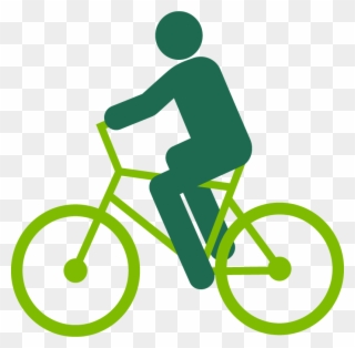 320x314 Graphic Of A Person Riding A Bike