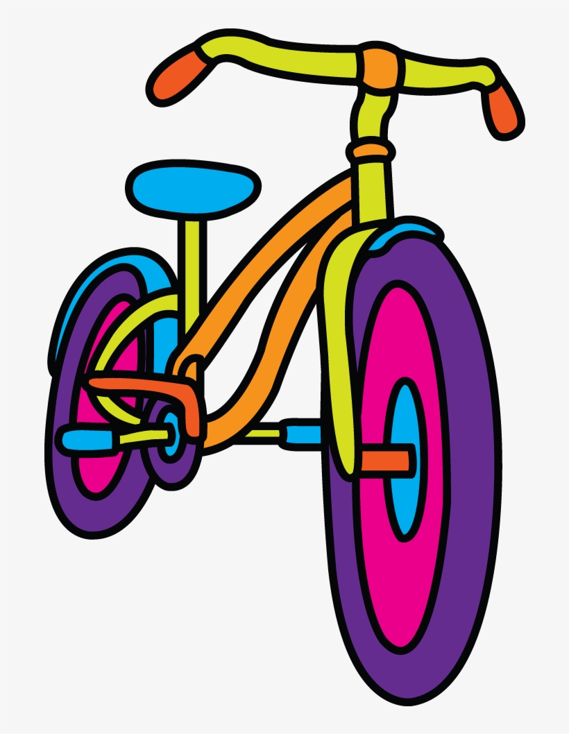 820x1058 How To Draw A Simple Bicycle Step